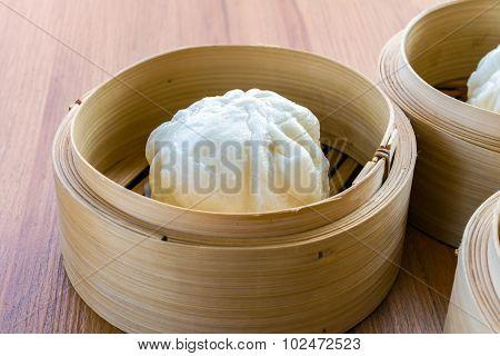 steamed dumpling, steamed stuff bun
