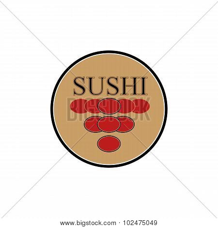 Logo design sushi