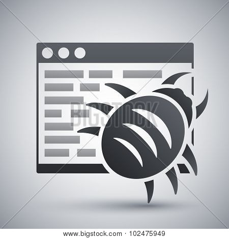 Vector Malware Icon