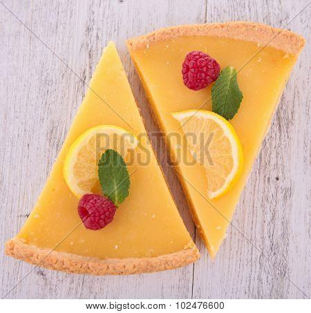 lemon tart pie