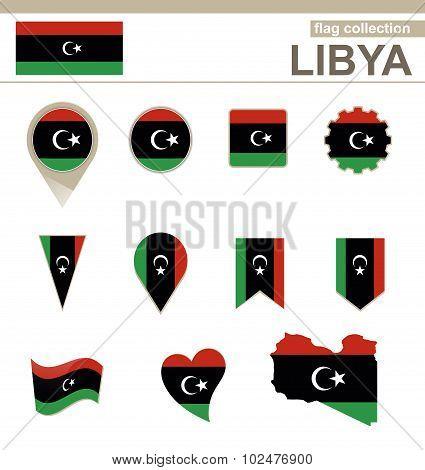 Libya Flag Collection