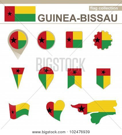 Guinea-bissau Flag Collection