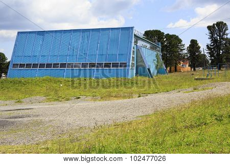 Sports complex Seminsky. Year round training center biathletes.