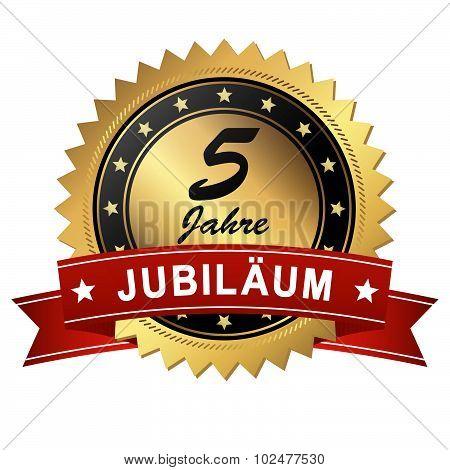 Jubilee Medallion - 5 Years