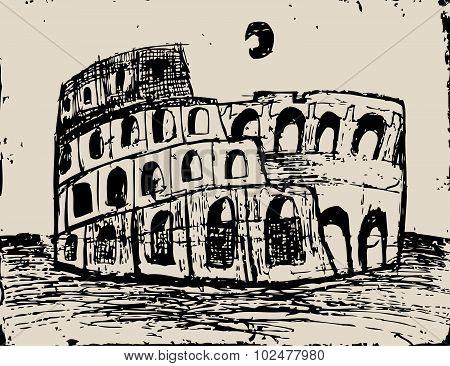 Coliseum Doodle