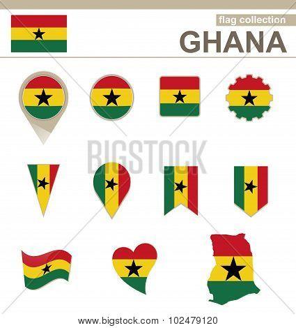 Ghana Flag Collection