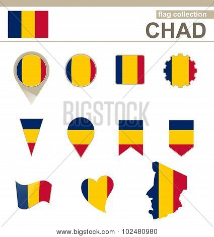 Chad Flag Collection