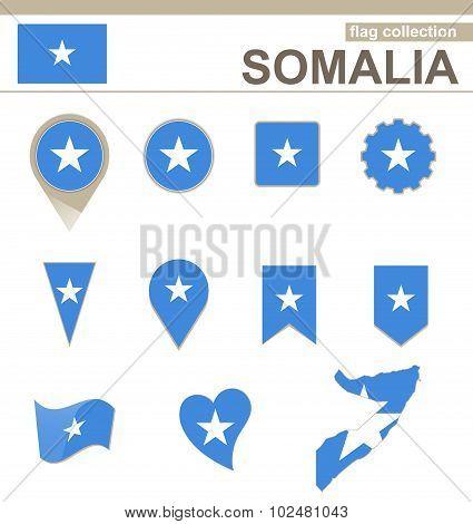 Somalia Flag Collection