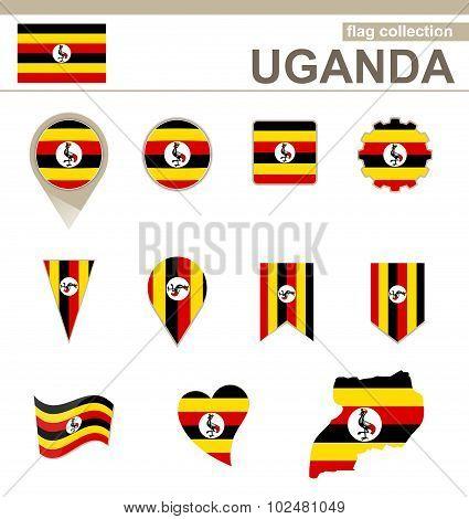 Uganda Flag Collection