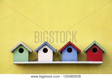 Street Of Birdhouses