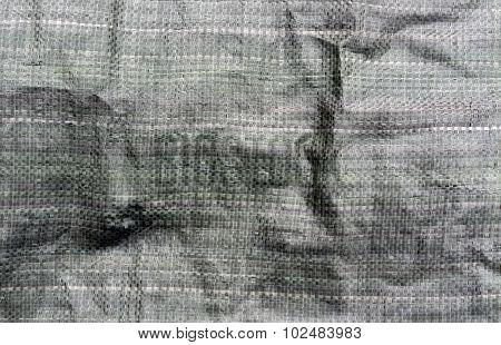 Dark Green Pvc Bag Texture.