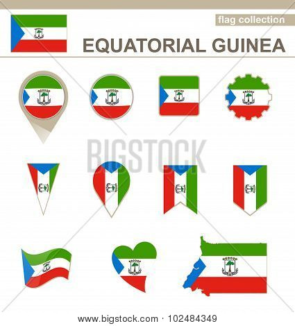 Equatorial Guinea Flag Collection