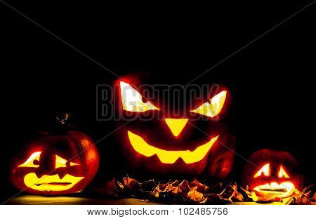 Halloween pumpkin Jack O' Lantern