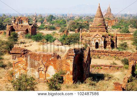 Bagan Skyline, Myanmar