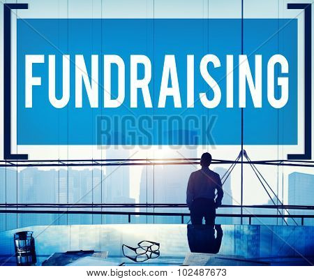 Fundraising Funding Finance Economy Donation Concept