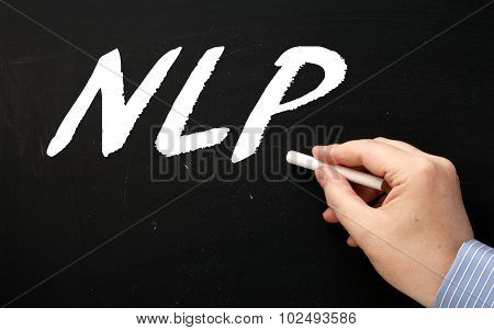 Writing NLP on a Blackboard