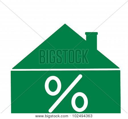 house mortgage concept interest rates