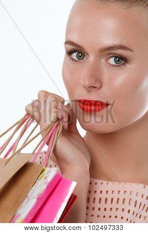 Beautiful Pensive Blonde Woman