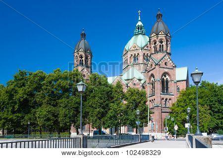 Saint Luke In Munich