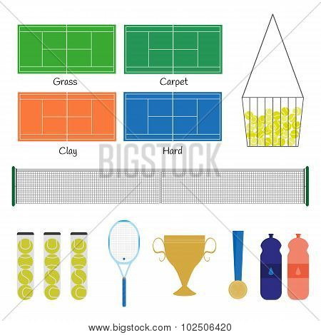 Big Tennis Items.