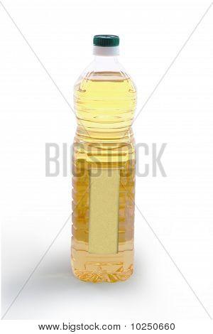 Bottle Of Vegetable Oil - Rear