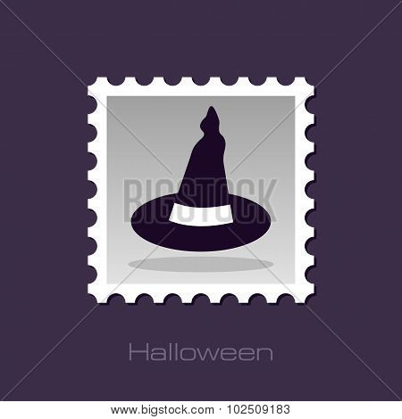 Halloween, Witch Hat Stamp