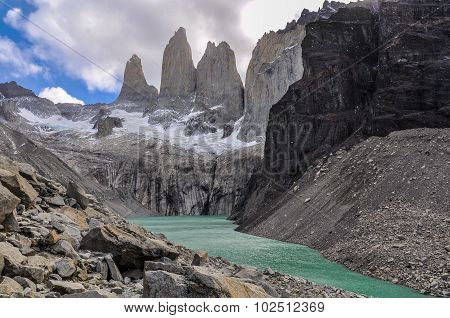 The Towers, Torres Del Paine National Park, Chile
