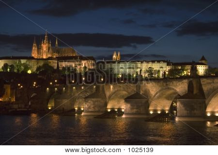 Nightfall In Prague