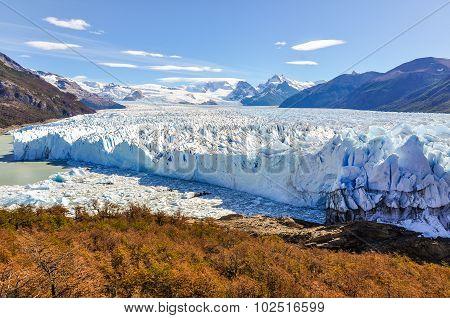 Panorama, Perito Moreno Glacier, Argentina
