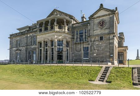 The Royal and Ancient clubhouse St Andrews Fife Scotland