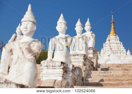 Settawya Paya, Mingun, Myanmar