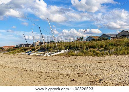 Catamarans On The Dunes.