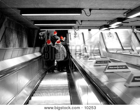 Underground At Xmas