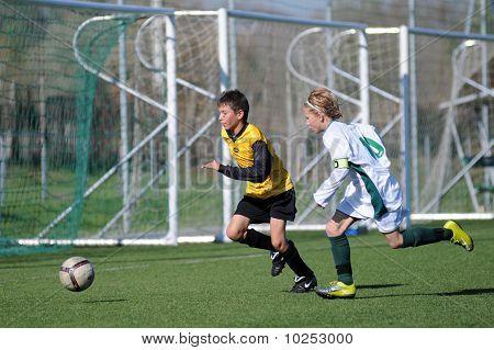Kaposvar - Pecs U13 soccer game