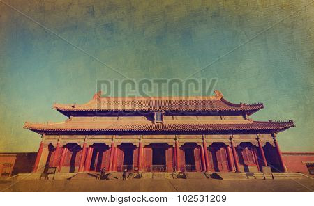 Majestic Forbidden City Beijing China Empire Palace Concept
