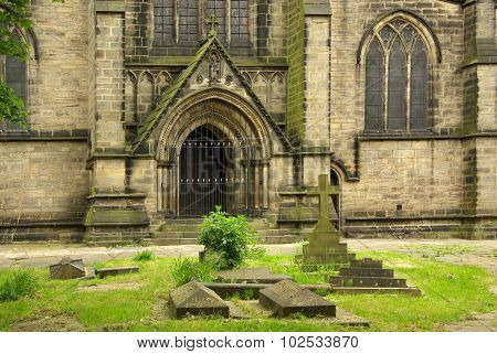 St. Michael And All Angels Church In Leeds, Uk