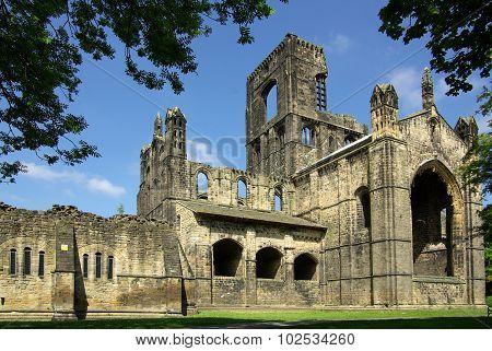 Kirkstall Abbey, Leeds, Uk