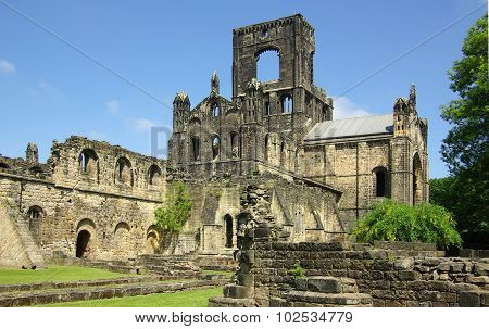 Leeds, Yorkshire, Uk - June 6, 2013: Kirkstall Abbey