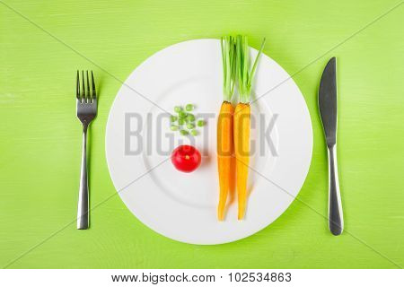 The Concept Of Dietary Restrictions, Healthy Lifestyle, Diet,  W
