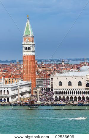 San Marco square waterfront, Venice