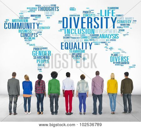Diversity Ethnicity World Global Community Concept