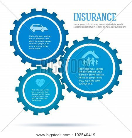 Gears-concept-of-insurance-infographics-flat-style