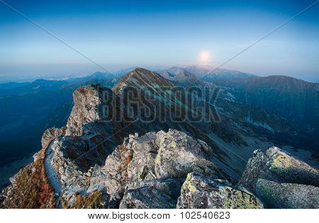 Night Mountain - Slovakia Tatras