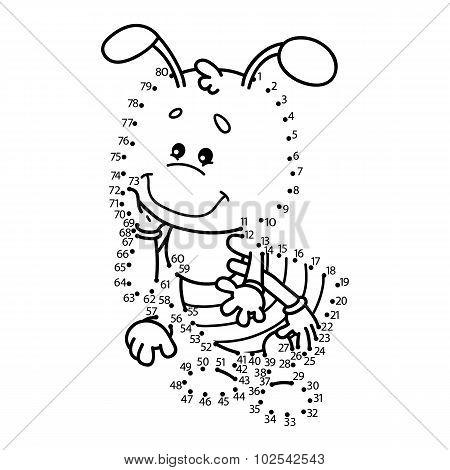 dot to dot ant game.