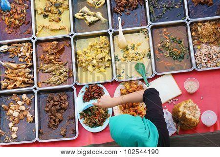 Malaysian delicious food