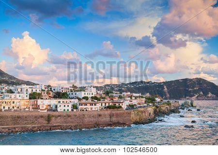 Coastal Landscape Of Forio, Ischia Island