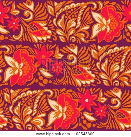 Seamless pattern of autumn leaves for printing on fabric, wrapping paper, textiles. A pattern of 4 c