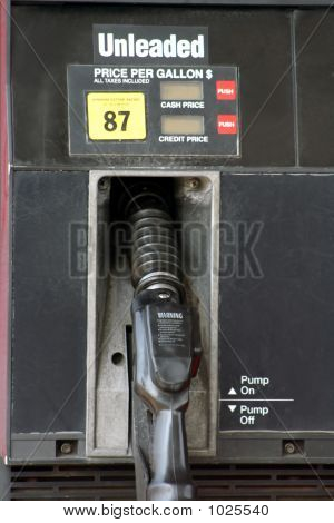 Unleaded Gas Pump