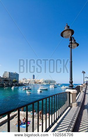 Balluta And Spinola Bay