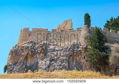 Lindos. Rhodes, Greece